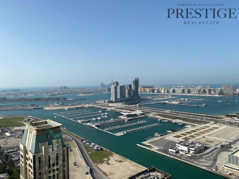 Amazing one bedroom with unique views of Palm Jumeirah