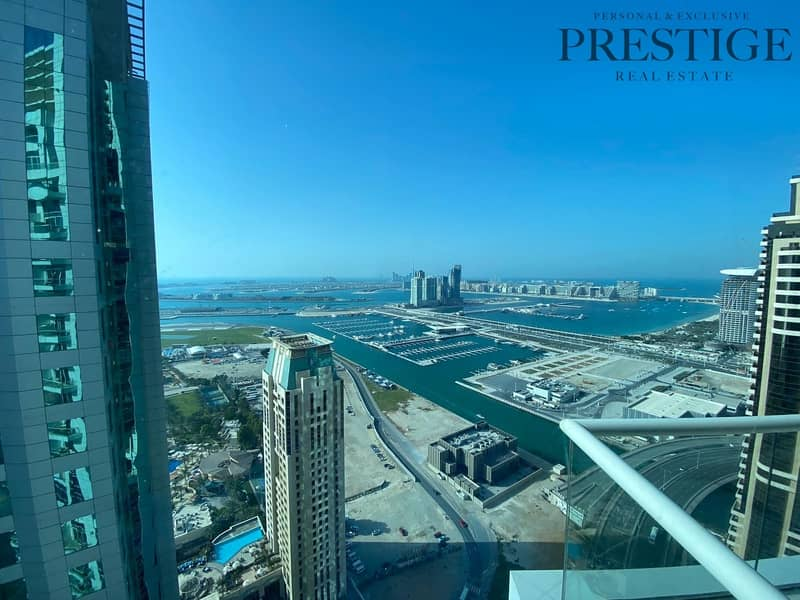 2 Amazing one bedroom with unique views of Palm Jumeirah