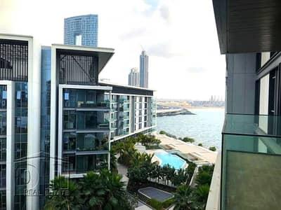 شقة 1 غرفة نوم للايجار في جزيرة بلوواترز، دبي - Partial Sea View   Vacant   Large Layout
