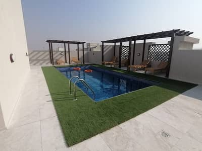 2 Bedroom Apartment for Rent in Al Warqaa, Dubai - Open View Stunning 2BHK Gym Pool Parking Just iN 43k Fully Family Bldg