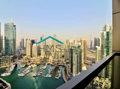 3 Bedroom Apartment for Rent in Dubai Marina, Dubai - 3BR | no.9 Tower |Dubai Marina | Marina Views