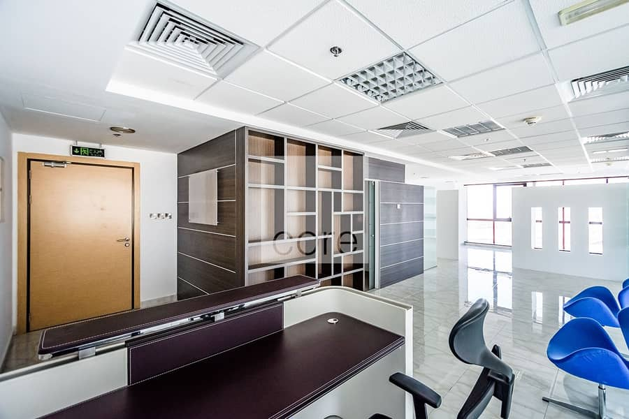 Partitioned | Fitted office for Rent | DMCC