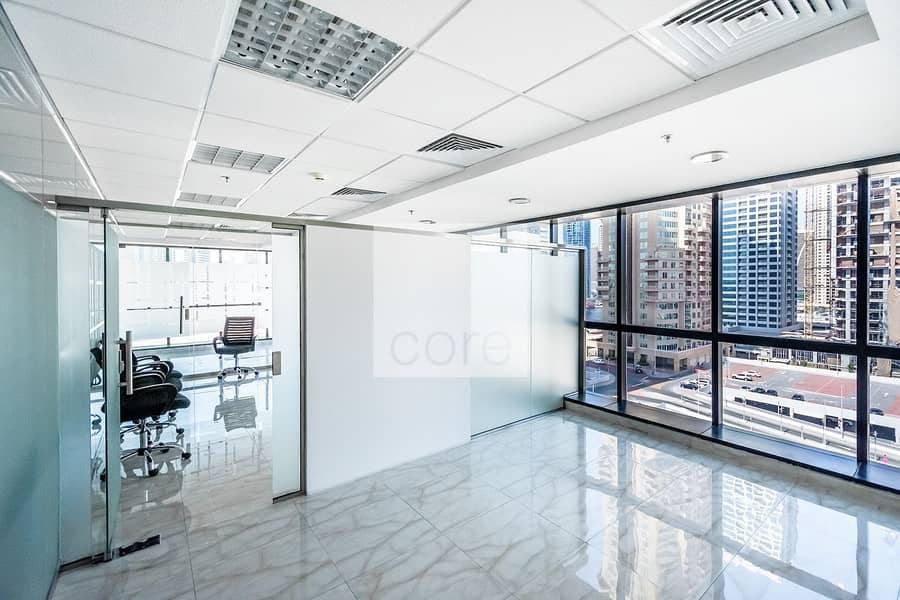 2 Partitioned | Fitted office for Rent | DMCC