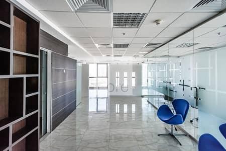 مکتب  للايجار في أبراج بحيرات الجميرا، دبي - Partitioned | Fitted office for Rent | DMCC