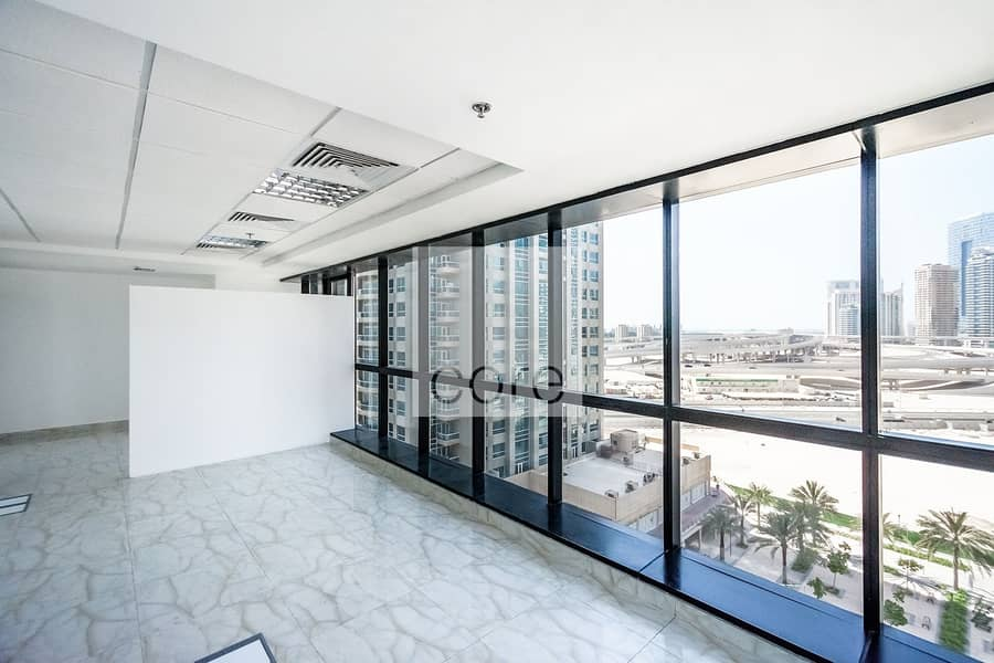 10 Partitioned | Fitted office for Rent | DMCC