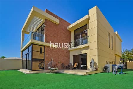 5 Bedroom Villa for Rent in DAMAC Hills (Akoya by DAMAC), Dubai - Fully Furnished | Golf Course View | Available Now