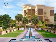 BRAND NEW STAND ALONE 6 MASTER BEDROOM VILLA IN A BIG LAND FOR SALE IN KHALIFA CITY A