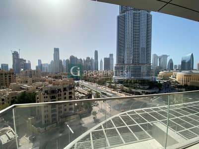 شقة 3 غرف نوم للبيع في وسط مدينة دبي، دبي - Corner Unit| Address View| Brand New