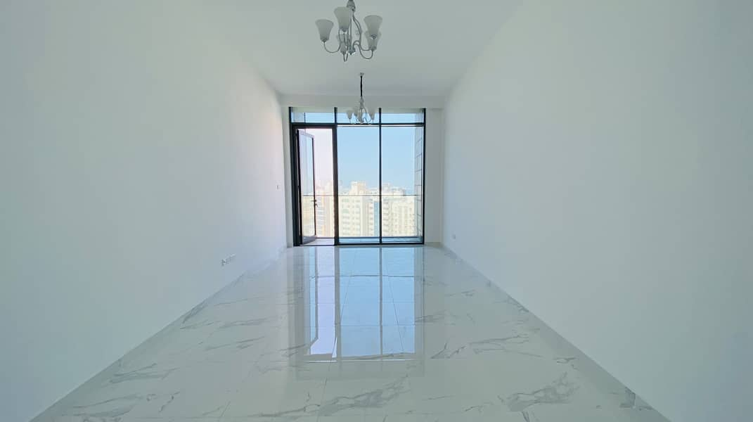 Brand new 3bhk   2 MONTHS FREE   in al Majaz rent 50k
