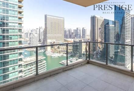 3 Bedroom Apartment for Rent in Dubai Marina, Dubai - Chiller free | Largest Layout | Marina view