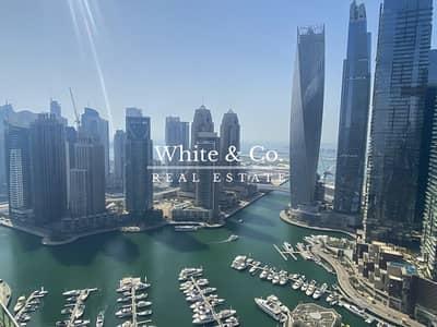 بنتهاوس 5 غرف نوم للبيع في دبي مارينا، دبي - Stunning Marina View - Penthouse / Duplex