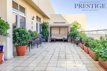 2 Bedroom Flat for Sale in Motor City, Dubai - 2 Bedroom Apartment with terrace fox hill Motor City