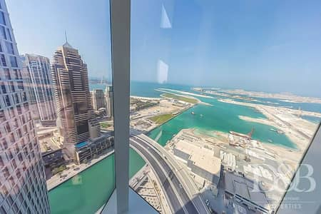 3 Bedroom Apartment for Rent in Dubai Marina, Dubai - Lovely Sea View | High Floor | Large Unit