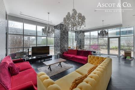 فلیٹ 3 غرف نوم للبيع في دبي مارينا، دبي - Exclusive|Rare|Pool View| Private Garden