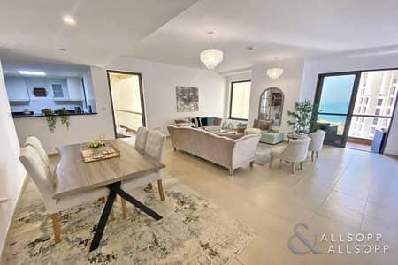 فلیٹ 1 غرفة نوم للبيع في جميرا بيتش ريزيدنس، دبي - Sea Views   1 Bed   Upgraded   2 Balconies