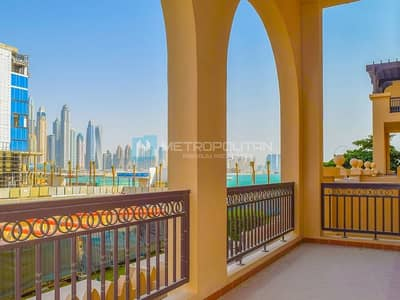 2 Bedroom Apartment for Sale in Palm Jumeirah, Dubai - 2BR W/ MR|ELEGANT MODERN UNIT|DIRECT BEACH ACCESS