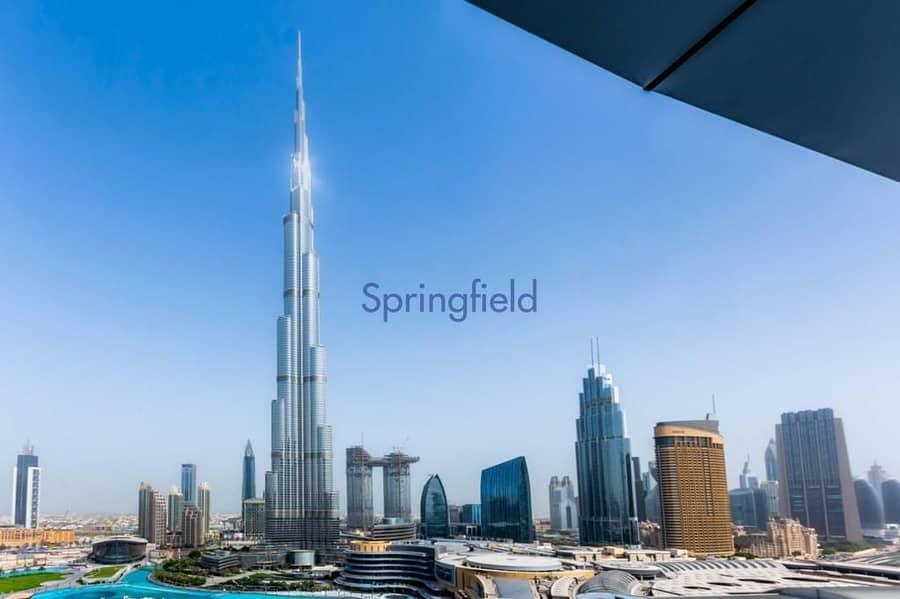 On high floor | Ready for transfer | Burj Khalifa View