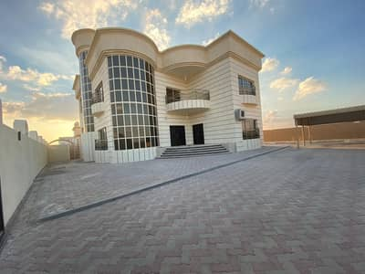 7 Bedroom Villa for Sale in Shakhbout City (Khalifa City B), Abu Dhabi - Villa outside attached ready to move in