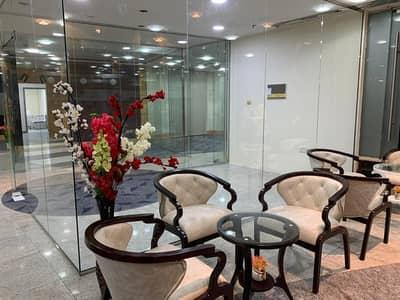 مکتب  للايجار في ديرة، دبي - مکتب في دار الخبيصي المرقبات ديرة 15000 درهم - 5073826