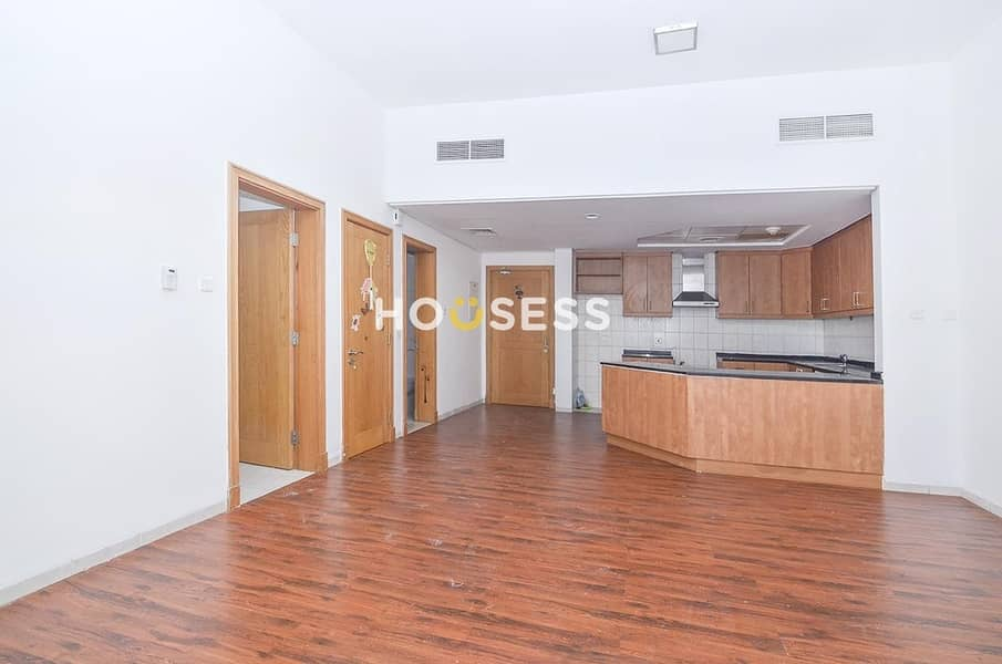 Well Maintained Apartment | Low Floor |Unfurnished