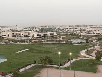 1 Bedroom Flat for Rent in DAMAC Hills (Akoya by DAMAC), Dubai - Pool and Semi Golf View  l Good Maintenance Unit