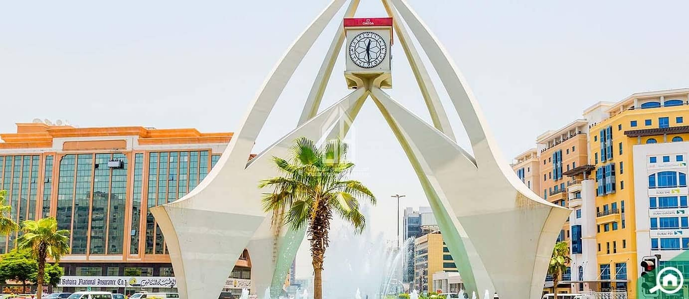 2 Prime Location in Deira - Mixed Use Land for Sale - Near Clock Tower