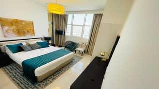 شقة في غالية كونستيلا قرية جميرا الدائرية 2 غرف 64000 درهم - 5074145