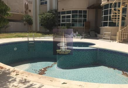 7 Bedroom Villa for Rent in Al Barsha, Dubai - Massive 7BR Family Home  with fresh pool and garden view