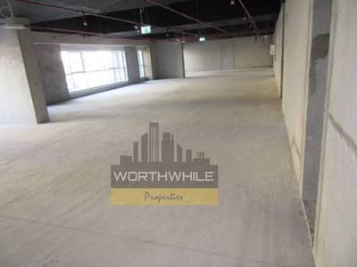 In brand new tower, Shell and Core 243sqmtr office space with parking available on Rent in Khalidiya