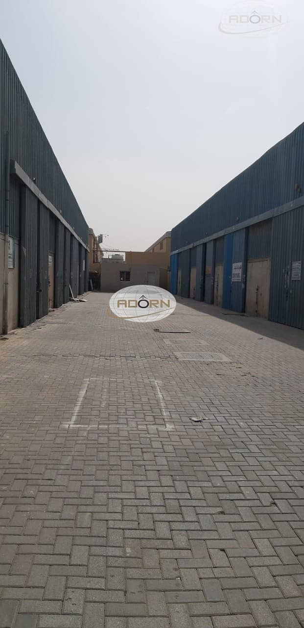 2 2400 sq ft commercial warehouse for rent in ras al khor