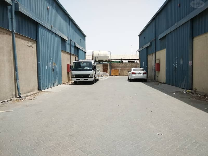 13 2400 sq ft commercial warehouse for rent in ras al khor
