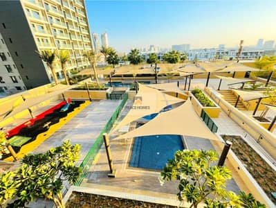 1 Bedroom Flat for Sale in Jumeirah Village Circle (JVC), Dubai - READY TO MOVE | WIDE-OPEN 1BR | HUGE BALCONY | FULLY FURNISHED