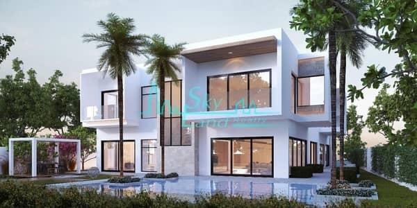 فیلا 6 غرف نوم للبيع في البراري، دبي - Al Barari|6-BR Contemporary Mansion|The Reserve|French Design