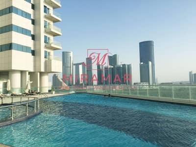1 Bedroom Apartment for Rent in Al Reem Island, Abu Dhabi - HOT DEAL! AMAZING SEA VIEW WITH BALCONY | HIGH FLOOR
