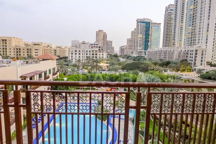 Nice 2Br / Furnished /Pool and Canal Views