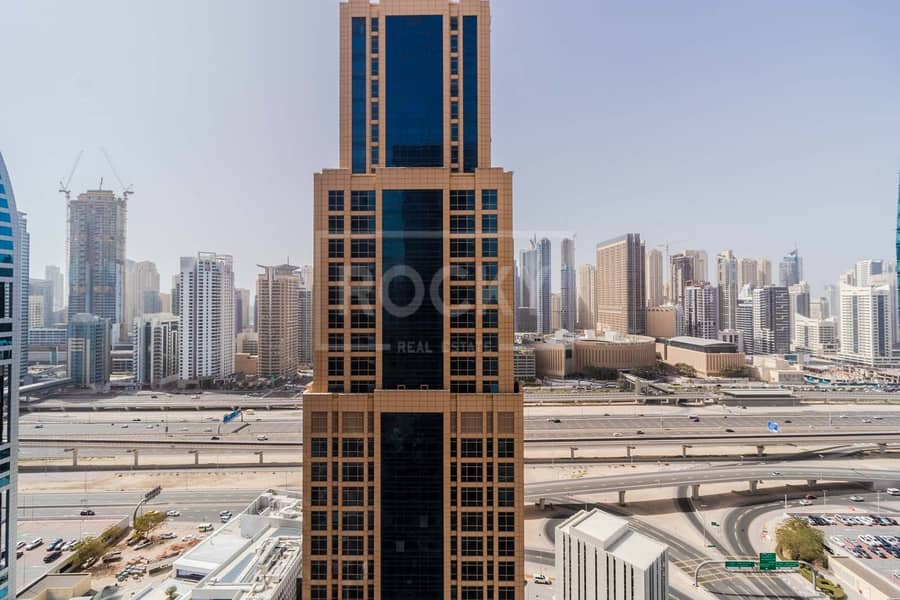 22 Furnished Office | Partitioned | 2 Parking | Balcony | DMCC