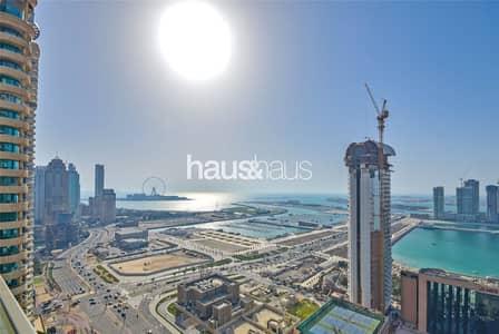 شقة 3 غرف نوم للبيع في دبي مارينا، دبي - Stunning Views | 3 + Maids | Vacant