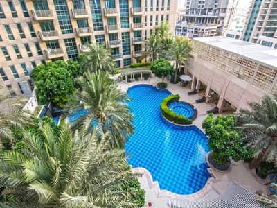 1 Bedroom Flat for Sale in Downtown Dubai, Dubai - Spacious 1 BR | Mid floor | vacant | Pool View