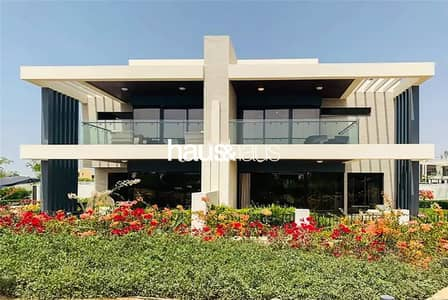 4 Bedroom Townhouse for Sale in DAMAC Hills (Akoya by DAMAC), Dubai - Genuine Re-sale | Park Facing | 4BR | End Unit