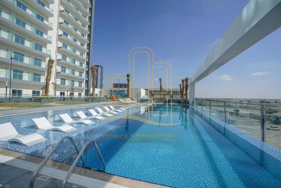 16 Studio Apartment | Balcony | Available @ 26K