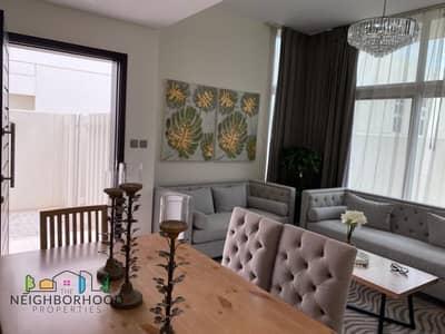 فیلا 3 غرف نوم للبيع في أكويا أكسجين، دبي - BRAND NEW | FULLY FURNISHED | SINGLE ROW VILLA AVAILABLE IN PACIFICA CLUSTER
