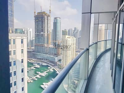 Bright 3 BR| Marina View| High Floor