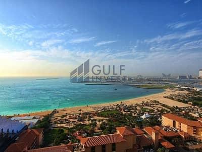 شقة 2 غرفة نوم للايجار في جميرا بيتش ريزيدنس، دبي - Stunning view / biggest layout / semi furnished