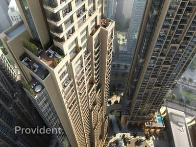 فلیٹ 2 غرفة نوم للبيع في وسط مدينة دبي، دبي - Pay 75% in 5 Years after Getting the Key