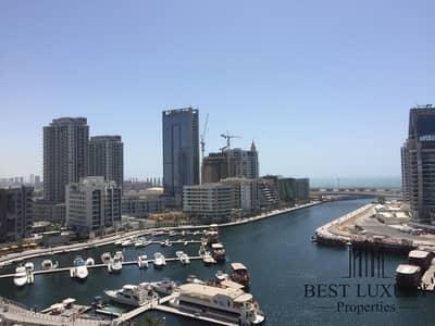 1 Bedroom Flat for Sale in Dubai Marina, Dubai - Full Marina View | Mid Floor | Fully Furnished