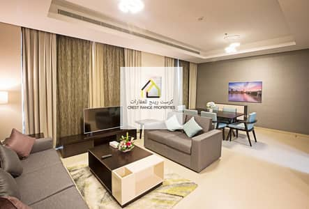 1 Bedroom Flat for Rent in Corniche Area, Abu Dhabi - Tastefully Furnished w/ Amazing View| Utility inclusive