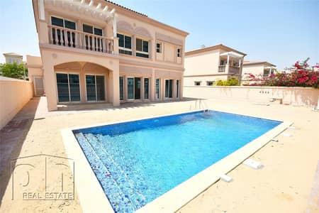 فیلا 4 غرف نوم للايجار في مثلث قرية الجميرا (JVT)، دبي - Private Pool | Unique 4 Bed | Huge Plot