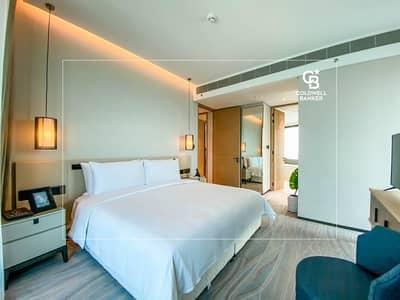 شقة فندقية 2 غرفة نوم للبيع في جميرا بيتش ريزيدنس، دبي - S2C   High Floor   Sea View   Furnished & Serviced