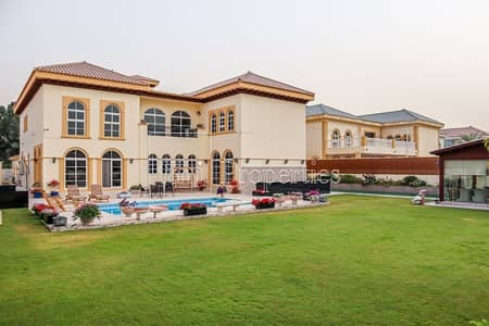 6 Bedroom Villa for Sale in The Villa, Dubai - Upgraded Mallorca Indulusia With Lift | Exclusive