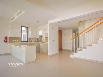 5 Bedroom Villa for Sale in Dubai Hills Estate, Dubai - Vacant Type 3E Townhouse in Lush Green Community